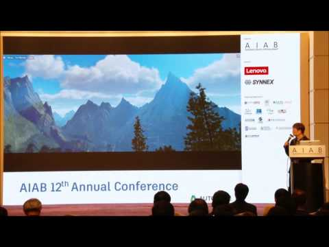 AIAB 12th Annual Conference - Design Visualisation with Stingray & HTC Vive Integration Workflow