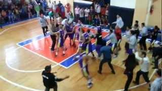 Dorados de Chihuahua Vs Zacatecas Final de Pelicula basquetbol Olimpiada Nacional 2013