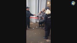 Жесткое задержание пенсионеров в мытищах