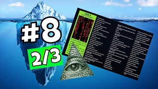 The Conspiracy Theory Iceberg (part 8 2/3) Explained