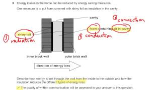 conduction convection and radiation ocr gateway p1 q3 gcse physics revision