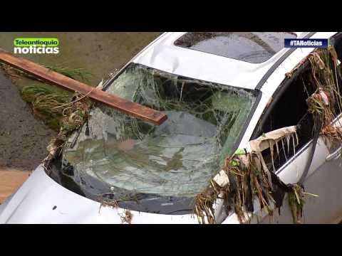 Aguacero ocasiona emergencia en el sur del Valle de Aburrá