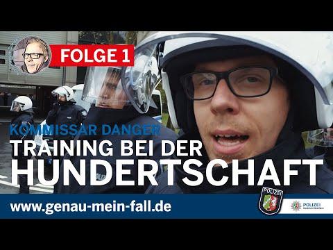 Kommissar Danger - Daniel bei der Polizei NRW, Folge 1: Training bei der Hundertschaft