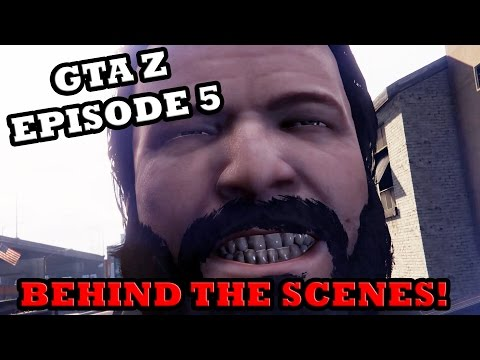 BEHIND THE SCENES: GTA Z Zombie Apocalypse Episode 5