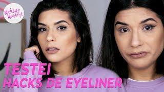 AFINAL QUAL A FORMA MAIS FÁCIL DE FAZER EYELINER? | Makeup Mondays #05 | Catarina Filipe