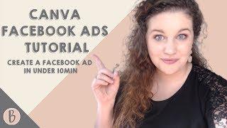 Canva Facebook Ads Tutorial (ERSTELLEN EINER FACEBOOK ANZEIGE IN UNTER 10 MINUTEN!)