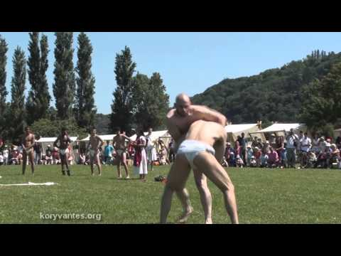 "KORYVANTES - Pankration Fight on ""Gallo-Roman"" Museum 2012"