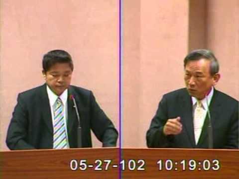 2013-05-27 蔡煌瑯 發言片段, 第8屆第3會期外交及國防委員會第29次全體委員會