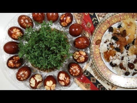 Ինչպես Ներկել Զատիկի Ձուն - How To Dye Easter Eggs - Heghineh Cooking Show In Armenian