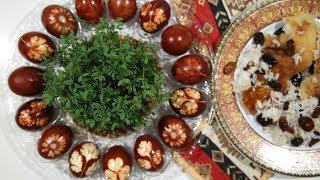 Ինչպես Ներկել Զատիկի Ձուն - How to Dye Easter Eggs - Heghineh Cooking Show  in Armenian - YouTube