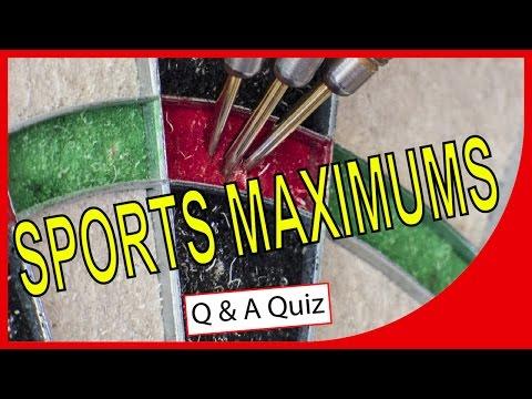 Sports Maximums | QUICK QUIZ | Q-Star Quiz Channel