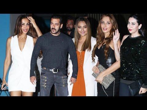 Full Video: Salman Khan Celebrate Arbaaz Khan's Birthday With Full Khan Family