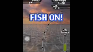 ifishing saltwater edition big bluefin tuna snaps line