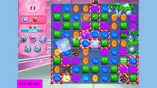 candy crush saga level 3663 no boosters