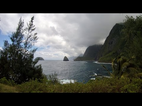 Molokai, Hawaii - Hiking to Kalaupapa