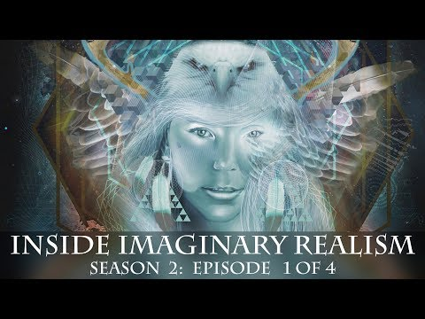 A raw look Into the worlds and minds of Visionary Artists & Art... a Visionary Art TV show Ep 1, S 2