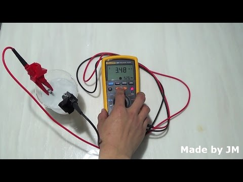 Ice conductivity test