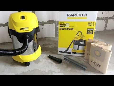 Karcher Wd3 Premium или Bosch Universal Vac 15. Почему я выбрал пылесос Керхер (2019)