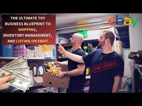 ANYONE CAN MAKE MONEY WITH A TOY BUSINESS ON EBAY