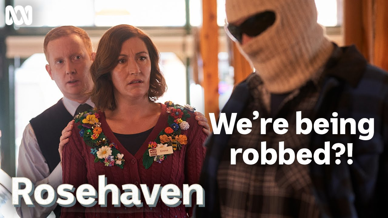 Download Rosehaven bakery gets held up and robbed | Rosehaven