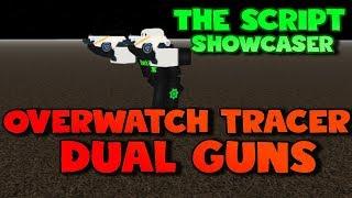 Roblox Script Showcase Episode#796/Overwatch Tracer Dual Guns