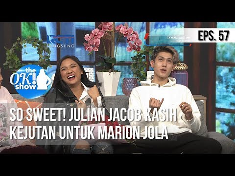 [THE OK! SHOW] So Sweet! Julian Jacob Kasih Kejutan Untuk Marion Jola [25 Februari 2019]
