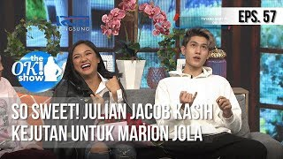 Download lagu [THE OK! SHOW] So Sweet! Julian Jacob Kasih Kejutan Untuk Marion Jola [25 Februari 2019]
