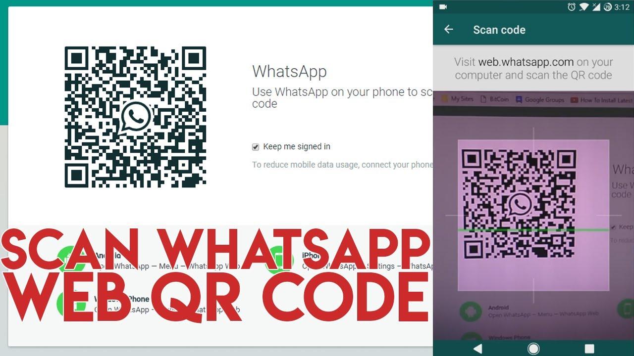 How To Scan Whatsapp Web QR Code