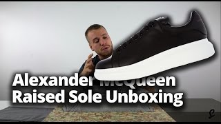Alexander McQueen Exaggerated Sole Review & Unboxing | Raised Sole by McQueen