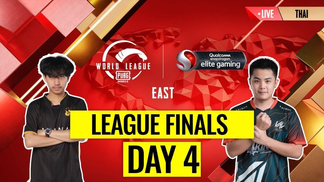 [THAI] PMWL EAST - League Finals Day 4 | PUBG MOBILE World League Season Zero (2020)