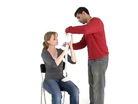 RYA First Aid: Bleeding Hand