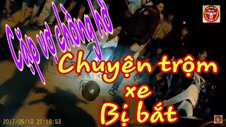 VIDEO Cuộc truy bắt thành công 2 vợ chồng cướp xe máy ở Biên Hòa ngay trong đêm