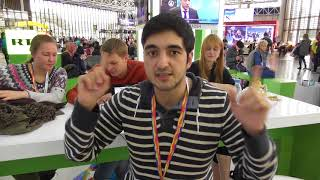 Great Britain at the world festival of youth and students in Sochi, Russia