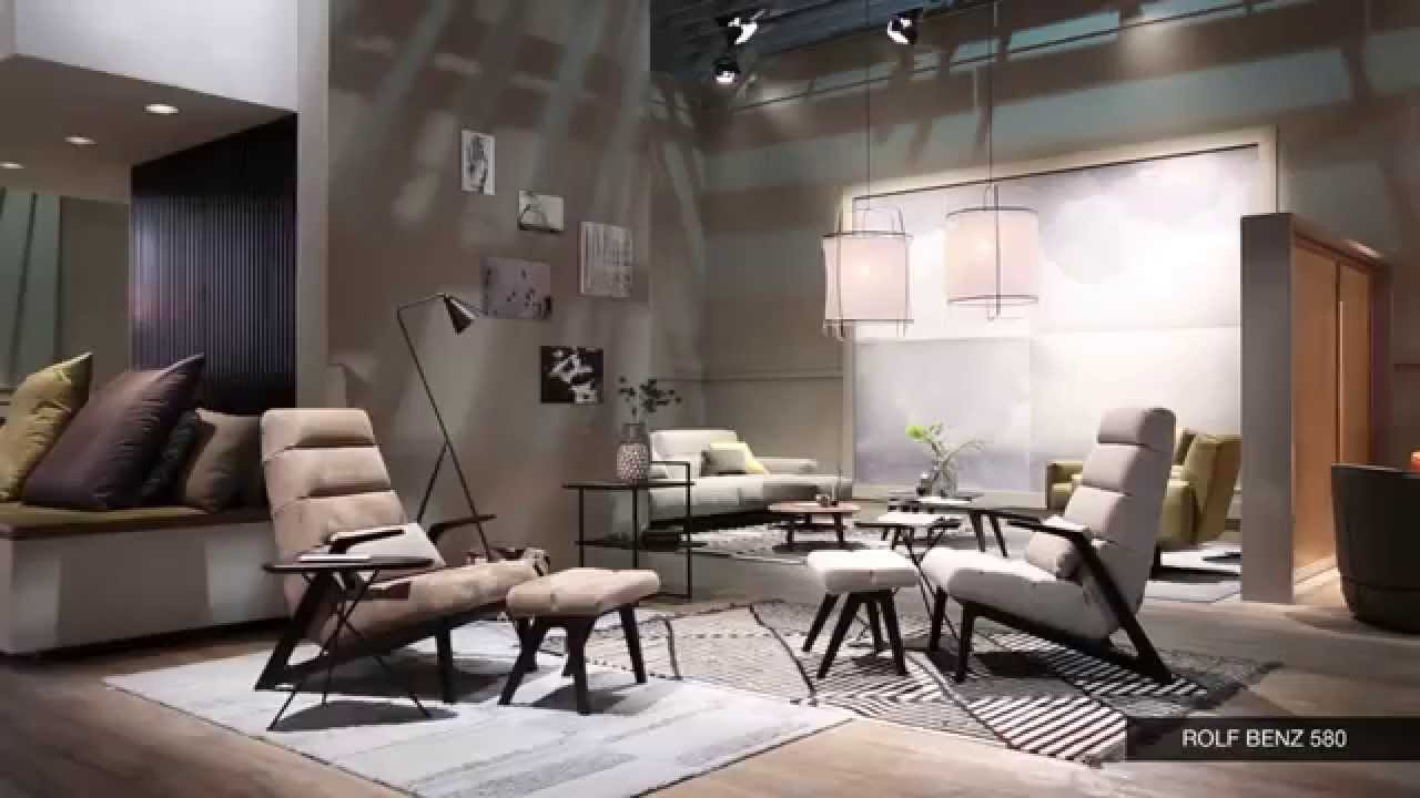 rolf benz salone del mobile milano 2015 youtube. Black Bedroom Furniture Sets. Home Design Ideas