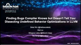 Finding Bugs Compiler Knows but Doesn't Tell You-Dissecting Undefined Behavior Optimizations in LLVM