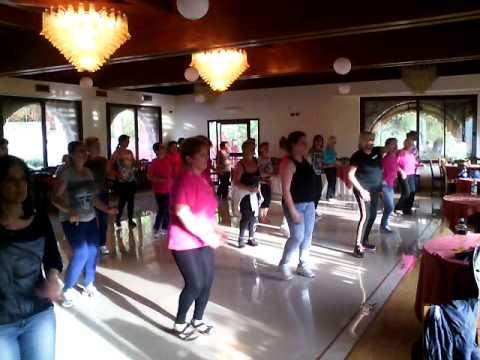 Afrodite Cumbia Ballo di gruppo 2015 COR.ARIANNA ESPOSITORE