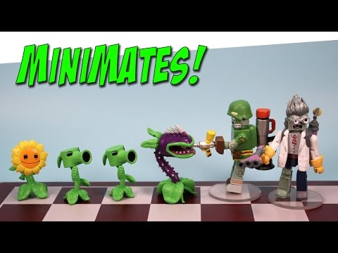 Plants Vs. Zombies Garden Warfare Minimates Toys R Us Exclusive