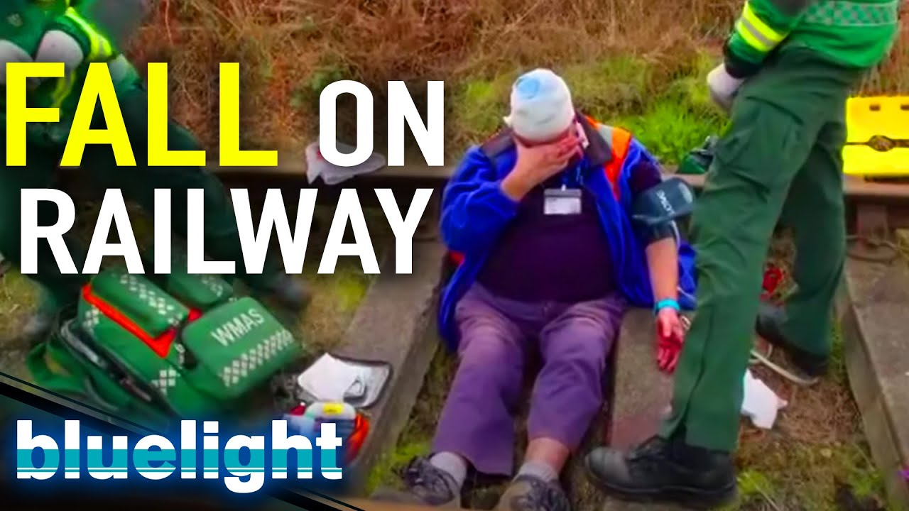 FALLEN on Train Tracks | Ambulance (BBC) | Blue Light: Police & Emergency