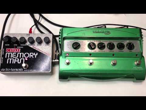 Electro Harmonix Deluxe Memory Man XO vs Line 6 DL4 Delay