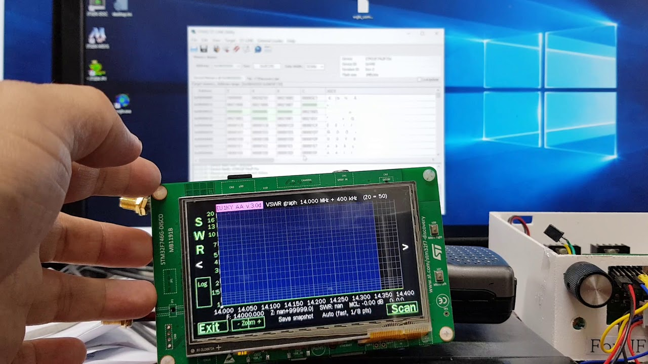 Antenna Analyzer - How to update the firmware