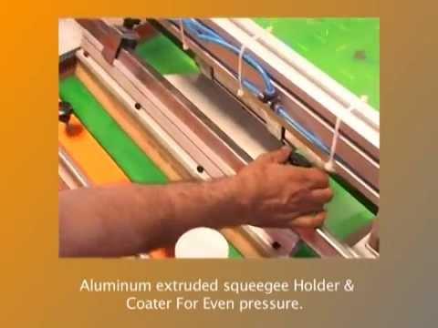 Manufacturer & Exporter Of Screen Printing Machine