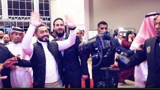 زيارة تامر حسني لفيلم الفلوس في سينمات الكويت و السعودية