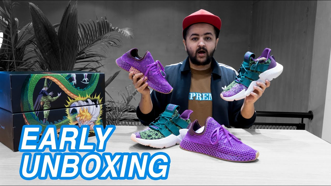 online store f4f18 aabfe Adidas x Dragon Ball Z Early Unboxing  The Cell  Gohan Unboxing  Early  Pairs