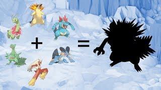 Requests #55 - Fusemon: Pokemon Gen 2 Starters Evolutions + Gen 3 Starters Evolutions