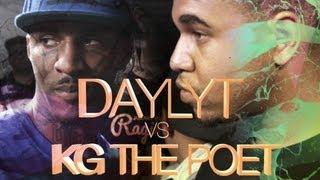 KOTD - Rap Battle - Daylyt vs KG The Poet