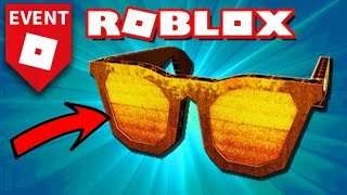 How to GET THE GLASSES OF the BLOXYS 2019 event 🌟 ROBLOX
