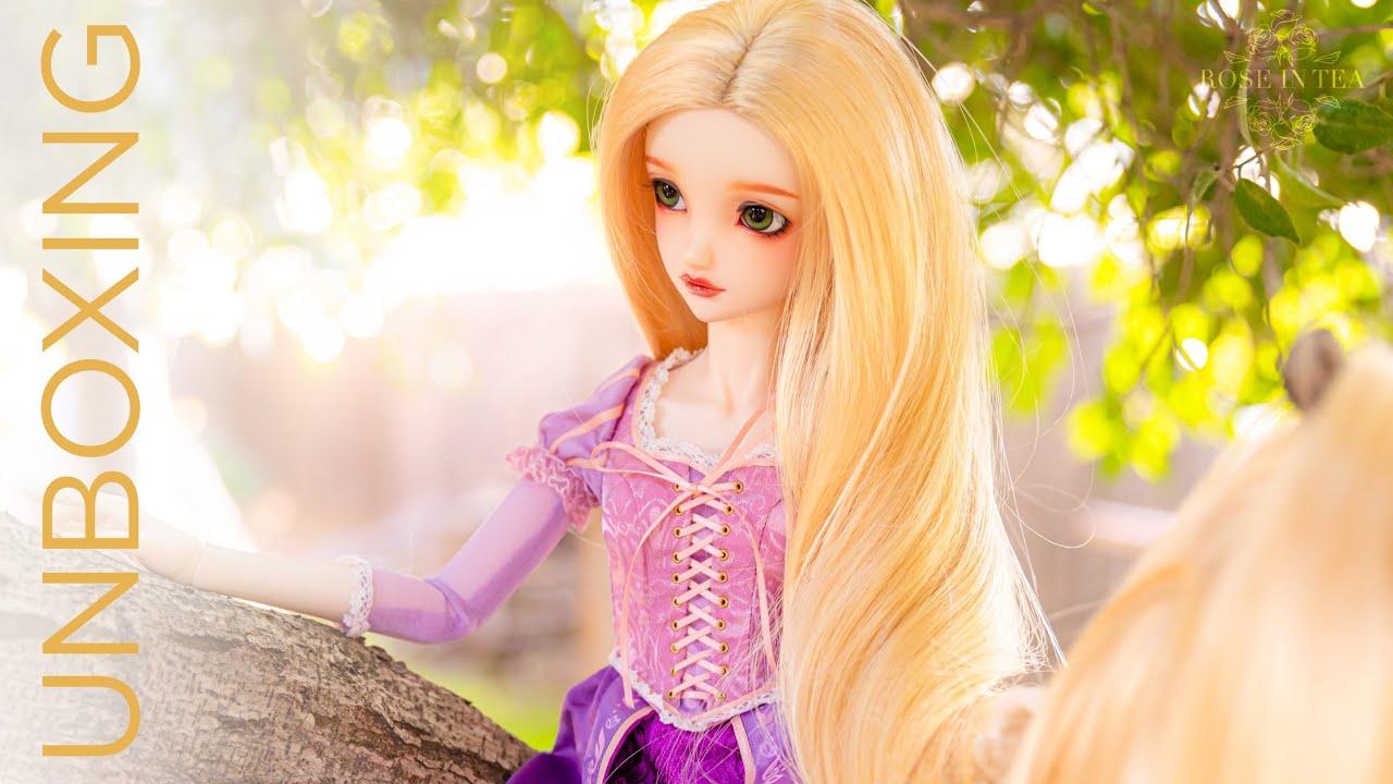Download BJD Volks SDGr RAPUNZEL [Disney Princess] Unboxing / Box Opening