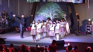 """การแสดงชุด """"ชีวิตเราพระเจ้าทรงสร้าง"""" อี๊ดโปงลางและเด็กๆ"""