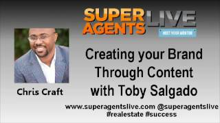 Creating your Brand Through Coontent with Chris Craft and Toby Salgado