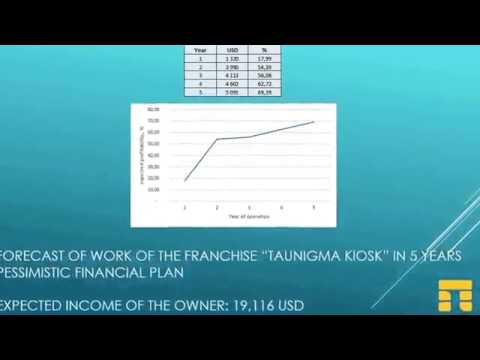 Taunigma Franchising Concept Financial plan Eng )